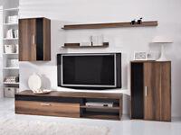 Living Room Furniture Set Tv Unit Cabinet Stand Cupboard Wall Shelves Modern