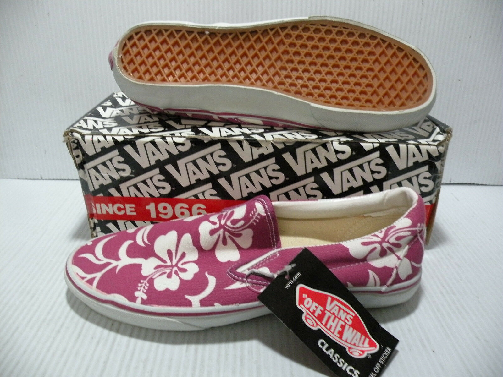 Tenis Vans clásicas Vandoren Slip-on LX Hombres Zapatos Hawaii Aloha 4783376 Nuevo