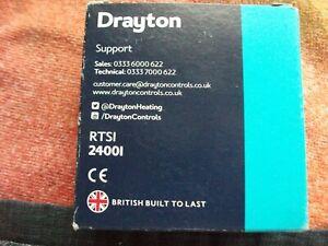 DRAYTON ROOM THERMOSTAT TRSI 24001  BNIB