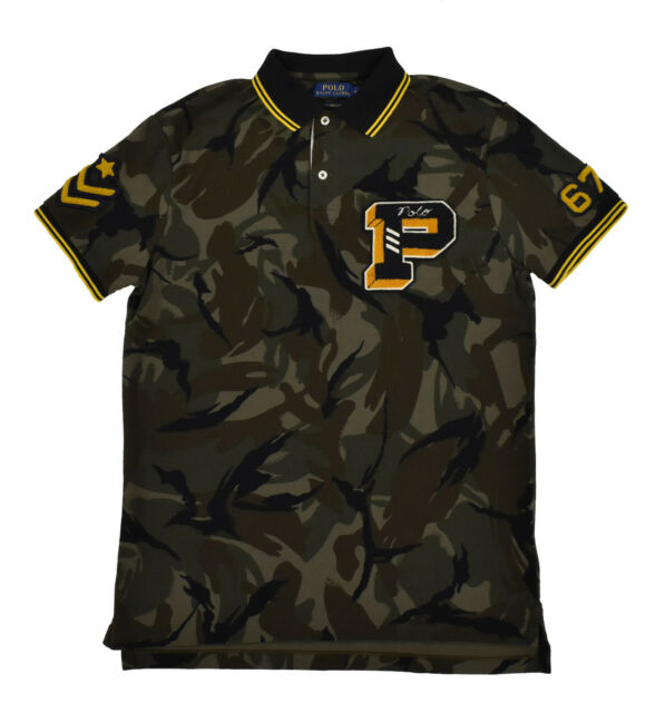 ralph lauren limited edition military polo shirt