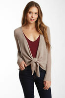 Philosophy Dane Lewis Woman Plus 100% Cashmere Beige Heather Cardigan Sweater 1X