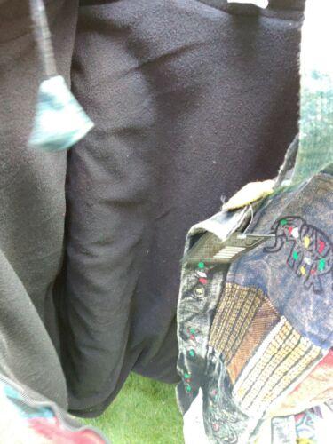 Multi Patched Handmade Polaire Doublé Hiver Unisexe Coton Veste