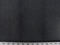 Vinyl Upholstery Fabric - Expanded Back Textured Vinyl Snake Skin - Black Plum