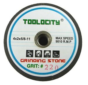 4-034-Green-Grinding-Stones-220-240-Grit-Box-of-10
