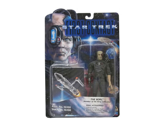 Star Trek First Contact The Borg 6 action figure Playmates 16108