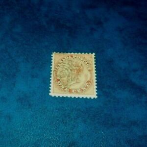 Canada-SC-14-Queen-Victoria-First-Cents-Issue-Used-1859-Stamp