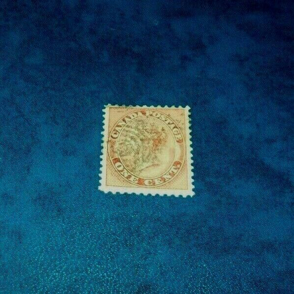 Canada SC 14 Queen Victoria First Cents Issue Used 1859 Stamp