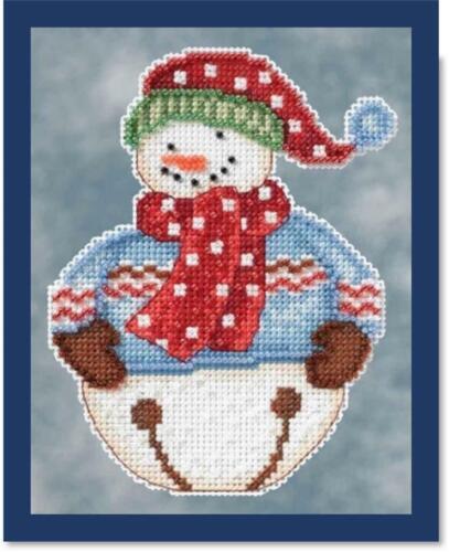 Mill Hill Counted Cross Stitch Kit JINGLE DM20-4101 SNOWBELLS by DEBBIE MUMM