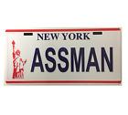 STICKER ASSMAN NUMBER PLATE NEW YORK SEINFELD BUMPER STICKER FREE POST