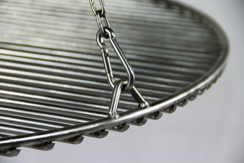v4a-qualité Acier Inoxydable kettensatz pour grille de cuisson 90-100 CM barbecue chaîne Kettenkit