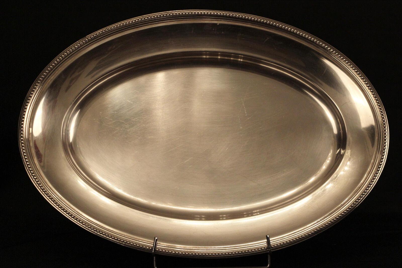 Plat de service signé Christofle, métal argenté   Service dish, Christofle
