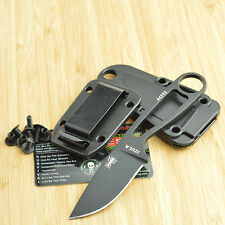 ESEE Izula Black Powder Coated 1095 Survival Camp Knife Izula-B