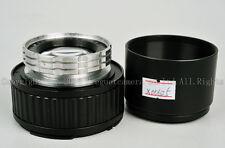 Ex+ Boyer Paris Onyx 100mm f/2.8 lens modified to Hasselblad mount  #X00625