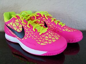 41a3e80bc065 Image is loading Womens-Nike-Zoom-Cage-2-Tennis-Shoes-Pink-