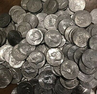 1980-1989 PD Kennedy Half Dollar 10x Coin Lot all 80/'s Old Original US Mint 50¢