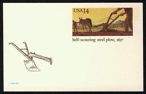#UX115 14c Self-Scouring Acero Arado, Nuevo Cualquier 4=
