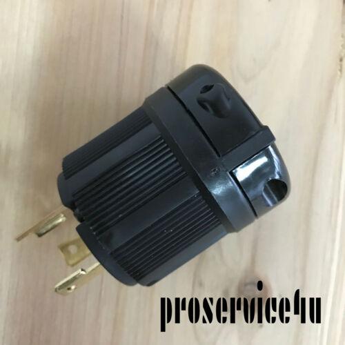 250V  UL Approval 3X NEMA L6-30P Twist Lock Electrical Plug 3 Wire 30 Amps