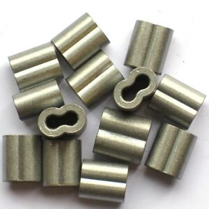 """Stainless Steel Rod Clips 3//8/"""" Sucker or Fiberglass Rod or Post Wire Fence 50pk"""