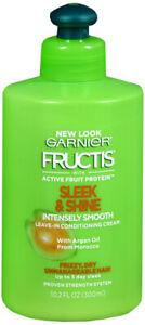 Garnier-Fructis-Sleek-amp-Shine-Intensely-Smooth-Leave-In-Conditioning-Cream-10oz
