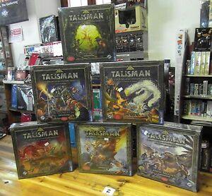 Talisman gioco da tavolo edizione in italiano scatole grandi ebay - Voodoo gioco da tavolo ...
