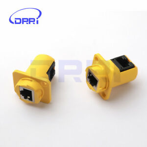 RJ45-Connector-Sockets-Female-Ethernet-Panel-Mount-Jack-Plug-IP44