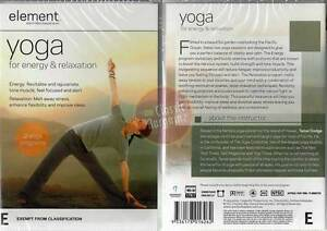 Element-Yoga-for-Energy-and-Relaxation-NEW-DVD-tone-muscle-improve-sleep-focus
