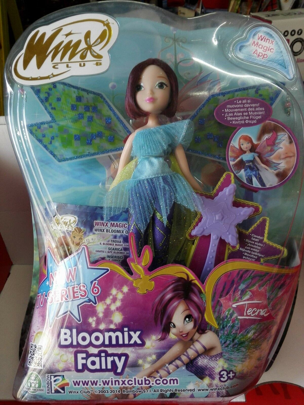 WINX BLOOMIX FAIRY  TECNA  outlet