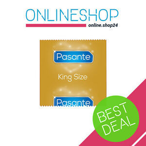 pasante king size condoms large xl xxl for big boys 1 100 pcs sensitive elite ebay. Black Bedroom Furniture Sets. Home Design Ideas