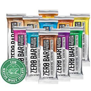 Biotech-Zero-Bar-20-Barrette-Proteiche-da-50-gr-Senza-Zuccheri-Lattosio-Glutine
