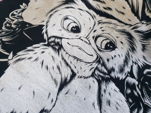 Dont feed Kult Retro Film Fun Gremlins Gizmo T-Shirt schwarz Mogwai