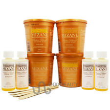 Mizani Butter Blend Sensitive Scalp Rhelaxer 4 Applications KIT w/ FREE Body Oil