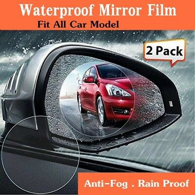 KöStlich New Car Rearview Mirror Waterproof Membrane Clear Anti-glare Anti-fog Film