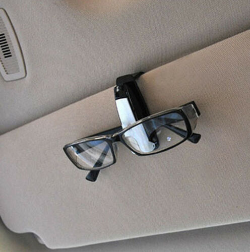 USA Sun Visor Sunglasses Eye Glasses Card Pen Holder Clip Car Vehicle Accessory