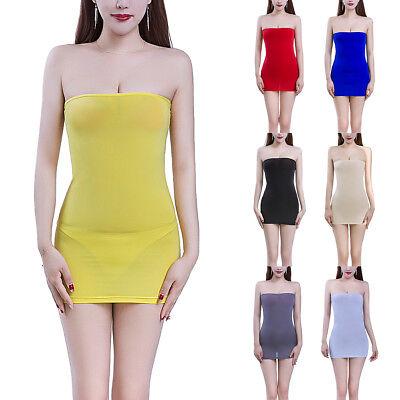 women sheer mesh strapless bodycon tube mini dress