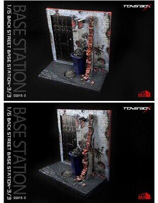 TOYS BOX 1:6 SM001 Batman Base Station Scene Platform Statue Model IN STOCK