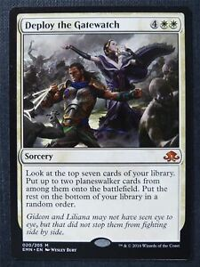 Deploy the Gatewatch - Mtg Magic Card #ST
