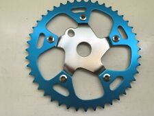 "Bicycle Chainring Gold//Chrome 44T  x 1//8/"" Steel//Alloy Lowrider Cruiser BMX Bikes"