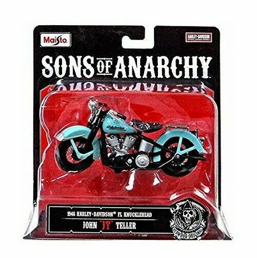 Maisto Sons Of Anarchy Harley Davidson 1 18 Clay Motorcycle Diecast Fp20 For Sale Online Ebay