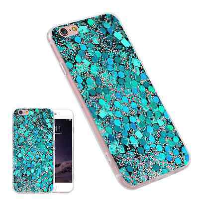 Fluorescent Stone TPU Printed Painting Phone Case Capa for iPhone Samsung Huawei