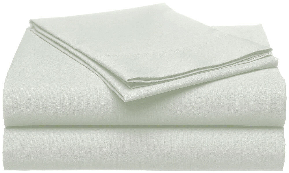 400TC Egyptian Cotton 1pc  FITTED SHEET Percale Dove Grey
