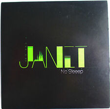 "JANET JACKSON - RARE PROMO SINGLE CD ""NO SLEEEP"""