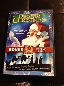 Discover-Christmas-2-Discs-DVD-CD-DVD-Region-1-NTSC