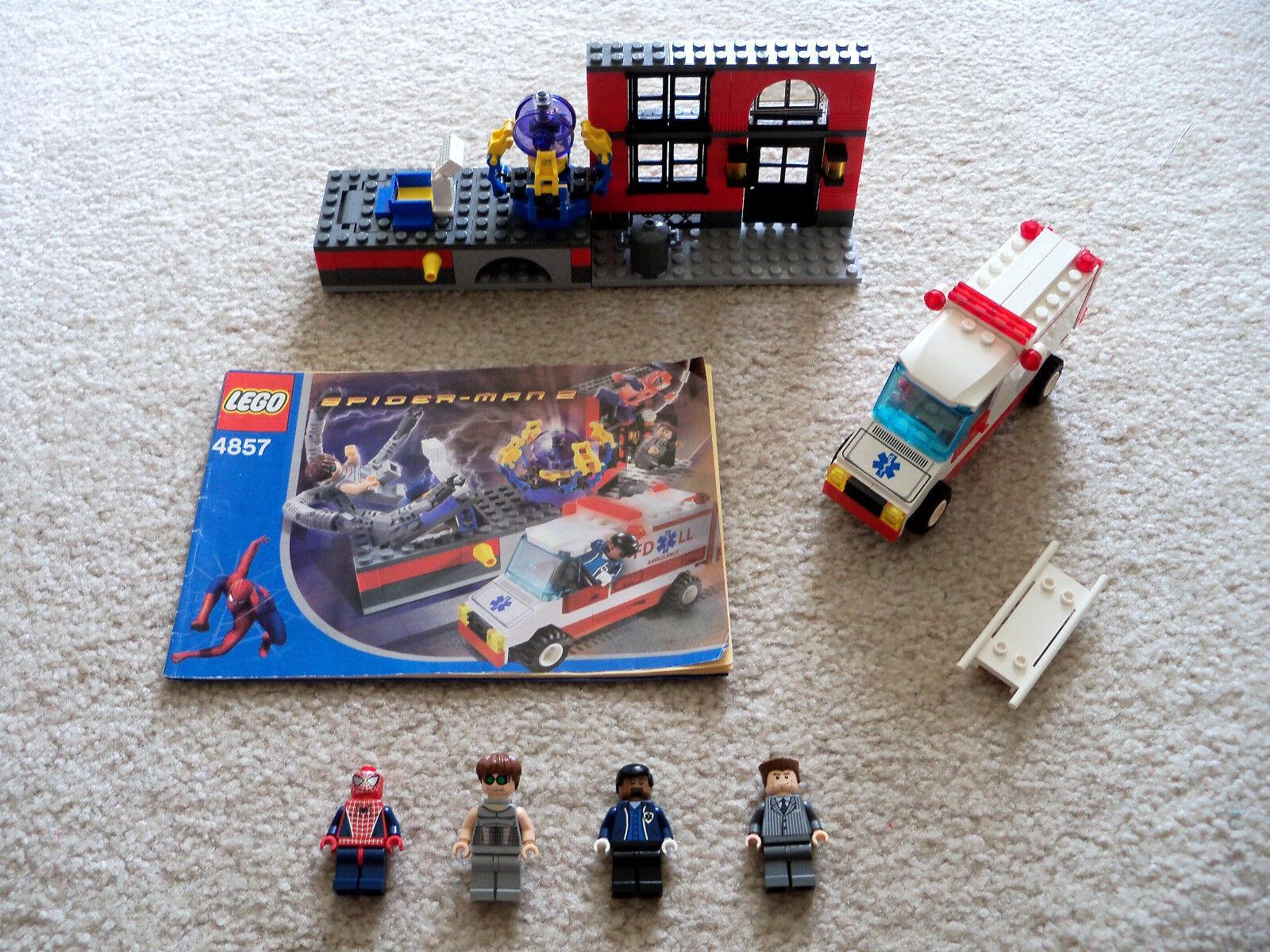 LEGO Spider-Man - Rare 4857 Doc Ock's Fusion Lab