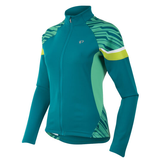 Pearl Izumi Womens Elite Thermal Cycling Jersey - Gumdrop bluee - Medium