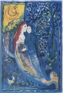 Marc-chagall-the-bridal-party-lithograph-numbered-and-signed-500ex