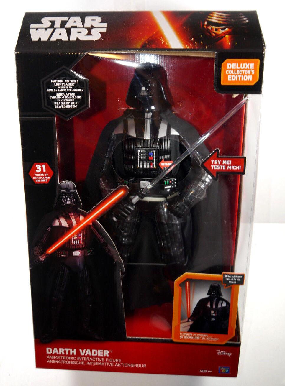 Star  Wars Deluxe Collector's Edition Darth Vader Interactif Figurine D'Action  bienvenue à choisir