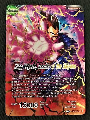 Master /& Pupil XD1-01 ST FOIL Dragon Ball Super TCG NEAR MINT Vegeta /& Cabba