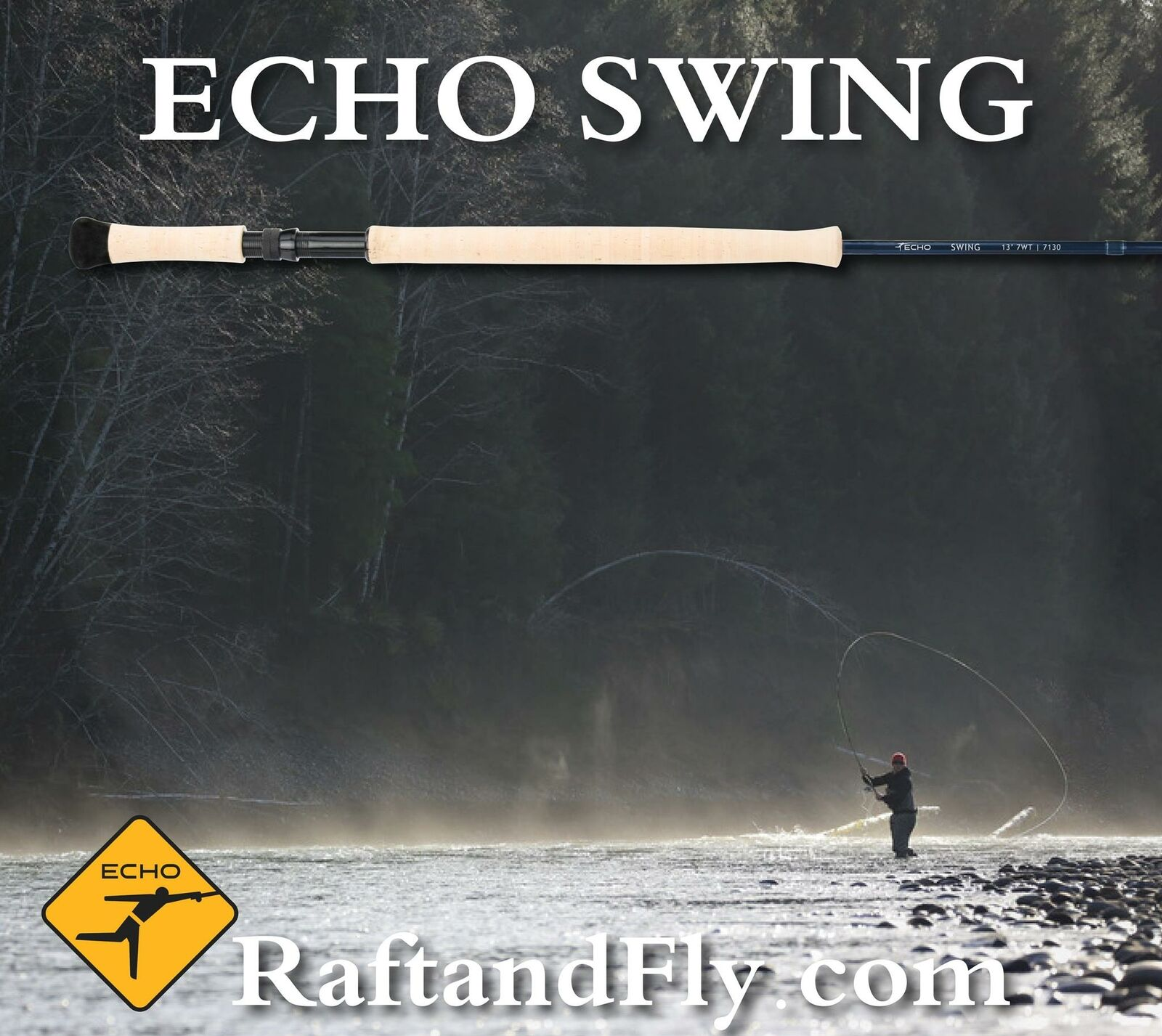 Echo Swing 7wt Switch 11'7  Lifetime Warranty  Free Shipping