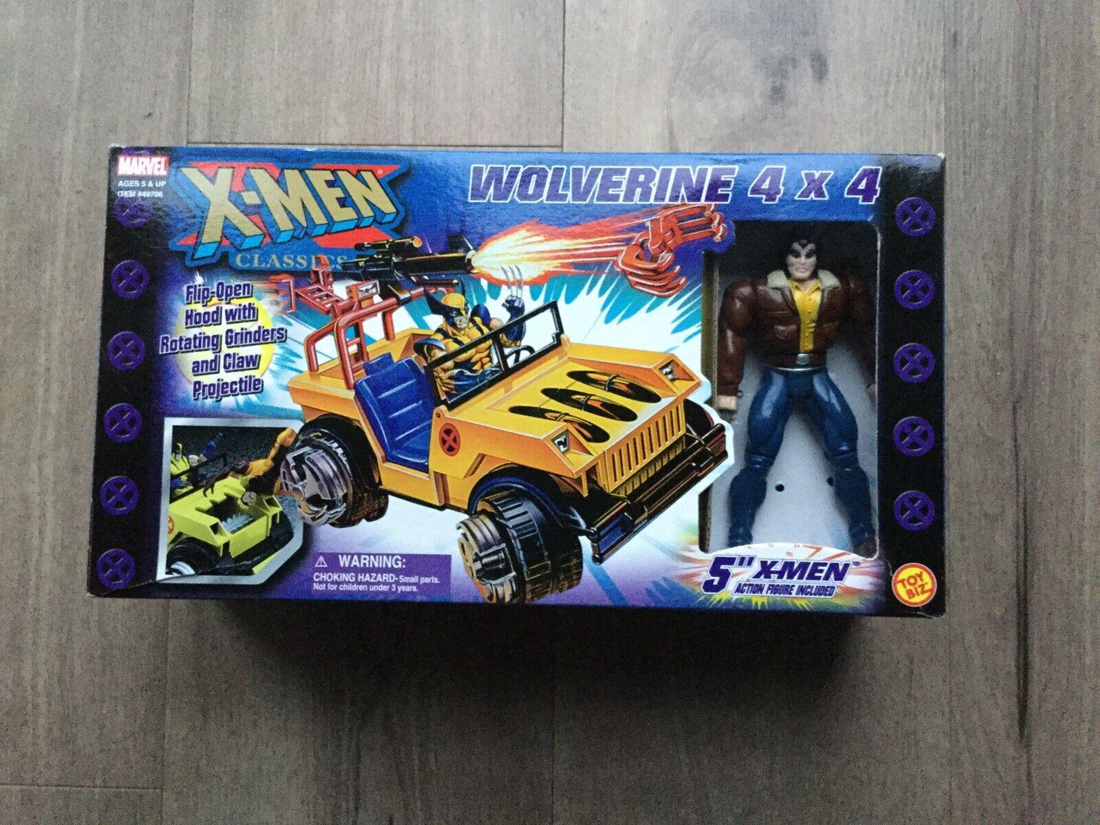 2000 ToyBiz X-Men Classics Figure - Wolverine 4x4 Jeep Toy