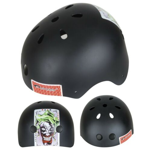 und Skaterhelm Freestyle Joker 54-56 Spokey Kinder-Fahrradhelm Helm BMX